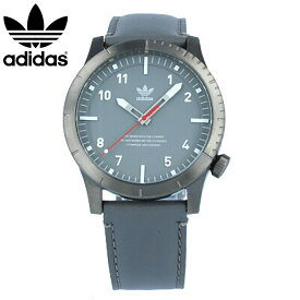 adidas / アディダス Z06-2915 CYPHER_LX1 サイファー 腕時計 ガンメタル チャコール レザー メンズ 【あす楽対応_東海】