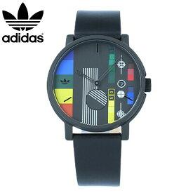 adidas / アディダス Z12-2336 DISTRICT_LX2 ディストリクト 腕時計 ブラック マルチカラー レザー メンズ 母の日 【あす楽対応_東海】