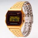 CASIO/カシオA159WGEA-5 ゴールド/ベーシックなデジタル時計 【あす楽対応_東海】