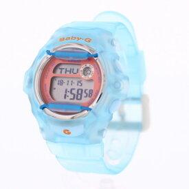 CASIO カシオ / Baby-G ベビージー BG-169R-2C 腕時計 レディース デジタル クリア ライトブルー 【あす楽対応_東海】