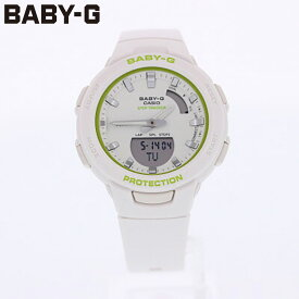 CASIO カシオ Baby-G ベビージー ベビーG 腕時計 時計 レディース アナログ デジタル アナデジ G-SQUAD Gスクワッド ジースクワッド 防水 カジュアル アウトドア スポーツ ホワイト 白 Bluetooth BSA-B100SC-7A プレゼント ギフト 1年保証 送料無料
