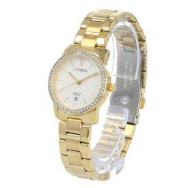 CITIZEN / シチズン EU6032-85A 腕時計 レディース ステンレス イエローゴ−ルド クオーツ クリスタル 【あす楽対応_東海】