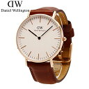 DANIEL WELLINGTON / ダニエル ウェリントン 0507DW腕時計 / ローズ 36mm Classic ST Andrews セント アンドルーズ【あす楽対応_東海】…