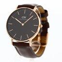 Daniel Wellington / ダニエル ウェリントンClassic Black Black Bristol DW0010013736mm 腕時計 黒文字盤【あす楽対応_東海】【最安挑…