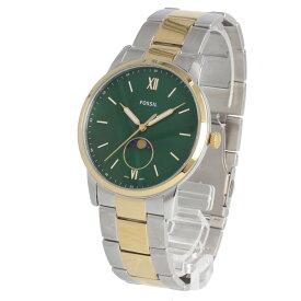 FOSSIL / フォッシル FS5572 The Minimalist ミニマリスト ムーンフェイズ 腕時計 メンズ グリーン マザーオブパール コンビ ステンレス MOONPHASE 【あす楽対応_東海】