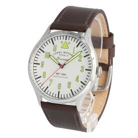FOSSIL / フォッシル FS5610 Forrester 腕時計 メンズ レザー ブラウン ホワイト 【あす楽対応_東海】