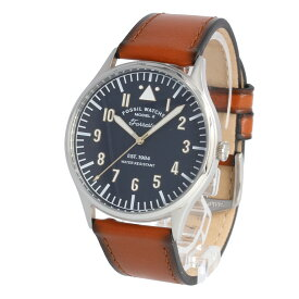 FOSSIL / フォッシル FS5611 Forrester 腕時計 メンズ レザー ブラウン ネイビー 【あす楽対応_東海】