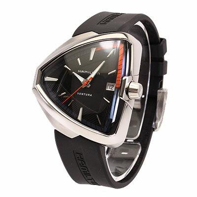 【お取り寄せ商品】HAMILTON/ハミルトン  H24551331腕時計 メンズ ベンチュラ エルヴィス 80 クオーツ ラバーベルト【1〜3営業日以内に発送】