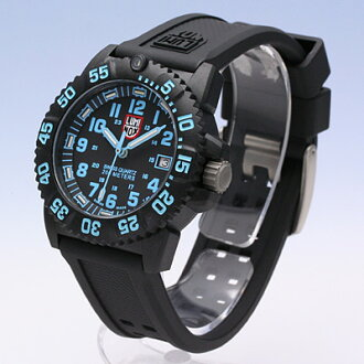有LUMINOX/Lumi敲门7053黑色(橡胶皮带)/Navy SEALs COLOR MARK SERIES T25书写方式