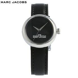 THE MARC JACOBS / ザ マークジェイコブス MJ0120179281 ザ ラウンドウォッチ 腕時計 レディース レザー ブラック シルバー 母の日 【あす楽対応_東海】