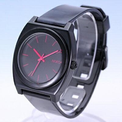NIXON/ニクソンTHE TIME TELLER P/タイムテラーA119480 BLACK/BRIGHT PINK【売れ筋】【あす楽対応_東海】