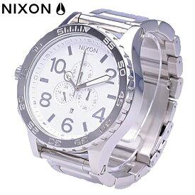 NIXON / ニクソン THE 51-30 CHRONO / フィフティワンサーティ クロノ A083488 HIGH POLISH / WHITE / THE 51-30 CHRONO HIGH POLISH / WHITE 【あす楽対応_東海】