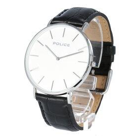 POLICE / ポリス PL.15304JS/01SET Classic クラシック 腕時計 メンズ レザー ブラック シルバー 替えバンド付き 【あす楽対応_東海】