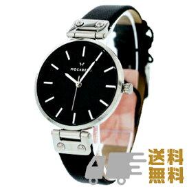 MOCKBERG / モックバーグ MO111 腕時計 レディース 黒文字盤 レザーベルト シンプル 【あす楽対応_東海】
