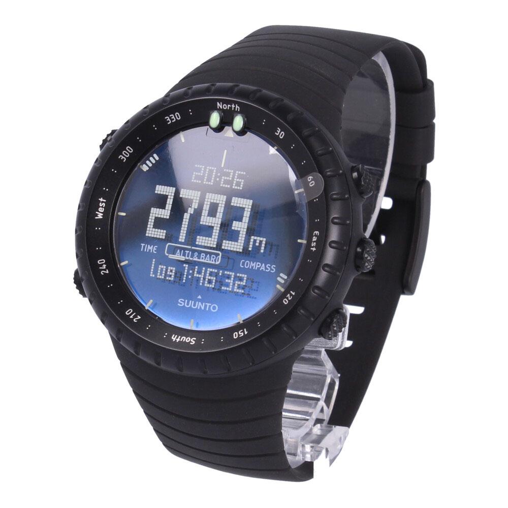 SUUNTO/スント CORESS014279010 ALL BLACK/高度計と気圧計の自動切換え可能 CORE 【あす楽対応_東海】