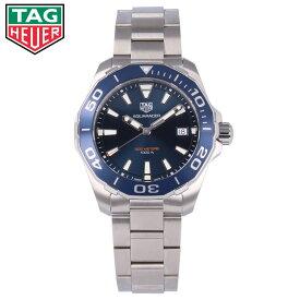 TAG HEUER タグホイヤー アクアレーサー腕時計 時計 メンズ 防水 ビジネス クオーツ メタル シルバー ブルー WAY111Cプレゼント ギフト 2年保証 送料無料