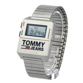 TOMMY HILFIGER / トミーヒルフィガー 1791669 腕時計 メンズ シルバー エバーバンド 蛇腹 トミージーンズ Tommy Jeans 【あす楽対応_東海】
