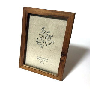 『天然木 フォトフレームRE フォト2L』●●フォトフレーム 写真たて 写真立て 壁掛け おしゃれ プレゼント ポストカード 写真 フレーム 額縁 額 木製 かわいい 木 シンプルブライダル メニ