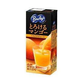 アサヒ飲料 バヤリースとろけるマンゴー紙パック 250ml×24本【ネコポス不可】