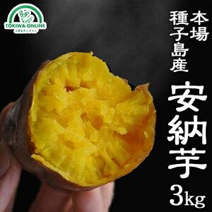安納芋 種子島 3kg S〜M 送料無料 減農薬 低農薬 蜜芋 安納紅 鹿児島 サツマイモ ギフト 日高農園