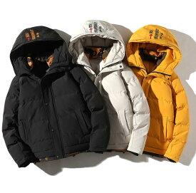 送料無料!秋冬モデル 棉入コート ダウンジャケット コート/メンズ ジャケット 欧米風 長袖 コート トップス メンズウェア 大きいサイズ 防風 防寒 プルオーバー M/L/XL/2XL/3XL/4XL