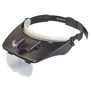ミザール(MIZAR)両手が自由に使える ニップル球ライト付き ヘッドルーペ HL-7000