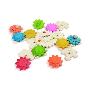PLANTOYS プラントイ ギアパズルデラックス 木のおもちゃ 知育玩具 木製玩具 リハビリ 指先運動 脳活 グッズ 室内遊び