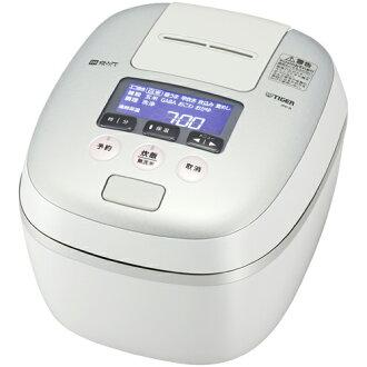 老虎老虎热水瓶少年警讯 A100 WH 白色灰色新鲜压力 IH 电饭煲 5.5 如果