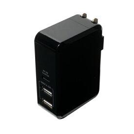 ミヨシ USB Type-C対応USB-ACアダプタ ブラック MCO IPA-C01/BK