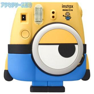 Fuji フィルムチェキカメラチェキ 8 minion INS MINI 8 MINION