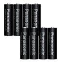 【ネコポス配送・送料無料】パナソニック Panasonic エネループプロ充電池単4形8本 BK-4HCD/4C(2パック) 電池ケース付き