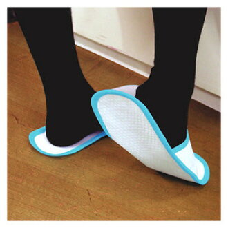 Hygienic disposable cleaning slippers 3 colors set SV-2027