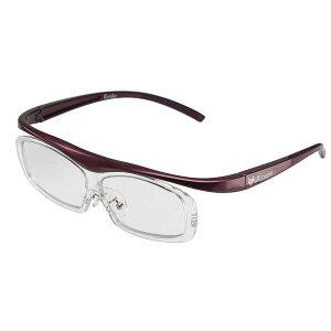 ケンコー・トキナー メガネ型 拡大鏡(YUIルーペ) ユイルーペ レギュラーサイズ 1.6倍 KTL-5102R PR パープル