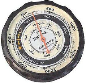 ミザール(MIZAR) 気圧表示付高度計 NO.610 【お取り寄せ】