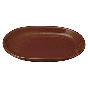 カントリーサイド チャコールブラウン 24cmプラター 洋食器 変形プレート 15cm〜25cm 日本製 業務用 プレート 皿 おしゃれ かわいい お皿 丸い ケーキ皿 取り皿 中皿 カフェ風 cafe風 54-11161046
