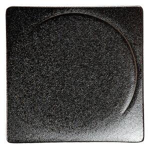 アルコ クリスタルブラウン 21cmスクエアープレート 洋食器 角型プレート 15cm〜25cm 業務用 ホテル&レストラン おしゃれ プレート 皿 かわいい 四角 ケーキ皿 取り皿 中皿 スタイリッシュ シ