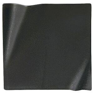 ネプチューン クリスタルブラック 17.5cm スクエアープレート 洋食器 角型プレート 15cm〜25cm 日本製 美濃焼 業務用 ホテル&レストラン おしゃれ 角皿 プレート 皿 かわいい 四角 ケーキ皿 取