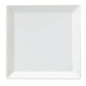 ルーラル 18cm スクエアープレート 洋食器 角型プレート 15cm〜25cm 日本製 美濃焼 業務用 角皿 プレート 皿 おしゃれ かわいい お皿 四角 ケーキ皿 取り皿 中皿 カフェ風 cafe風 角皿 白い皿 65-5060