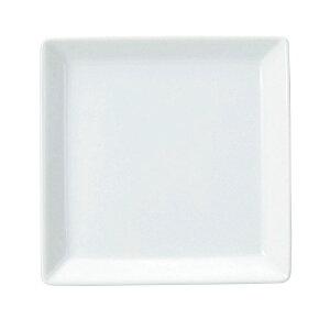 ルーラル 14cm スクエアープレート 洋食器 角型プレート 15cm以下 日本製 美濃焼 業務用 角皿 四角 取り皿 おしゃれ プレート かわいい お皿 ケーキ皿 小皿 豆皿 カフェ風 cafe風 角皿 白い皿 65-50