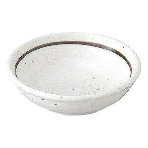 粉引ライン 2.6薬味皿 8cm 和食器 薬味皿 日本製 美濃焼 業務用 小皿 豆皿 おしゃれ 薬味 そば しょうゆ 醤油 お漬物皿 丸皿 65-50022091