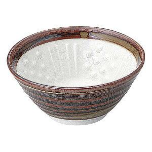 さび巻 納豆鉢 中 13cm 和食器 小鉢 日本製 美濃焼 業務用 65-51166068