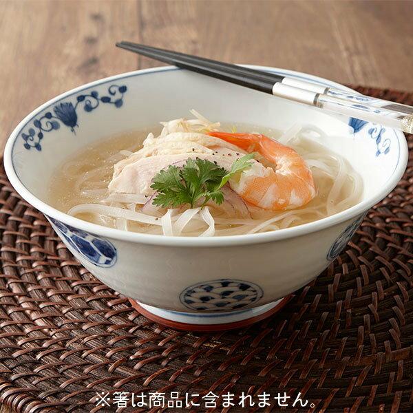 花伊万里 UK麺鉢 うすかる 19cm 中華食器 アジアン食器 ラーメン丼 うどん そば 和食器 日本製 業務用 57-HNIUKCB