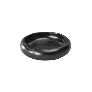 グルメスタイル 黒マット灰皿 9.3cm 和食器 灰皿 日本製 美濃焼 業務用 おしゃれ モダン g-1935-19-sp02