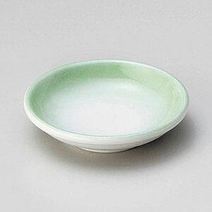 ヒワ吹3.0皿 約9.2cm 緑系 和食器 小皿 日本製 美濃焼 業務用 取り皿 プレート 小皿 豆皿 醤油皿 薬味皿 お菓子皿 漬物皿 プレート おしゃれ 美濃焼 和風 まとめ買い 27-227-057-te