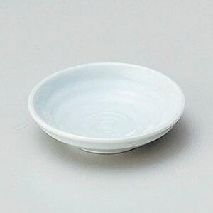 青白3.0深皿 10cm 和食器 小皿 日本製 美濃焼 業務用 取り皿 豆皿 プチ皿 プレート デザート皿 しょうゆ皿 スパイス皿 和皿 和食屋 レストラン 取り皿 プレート 27-227-567-ha