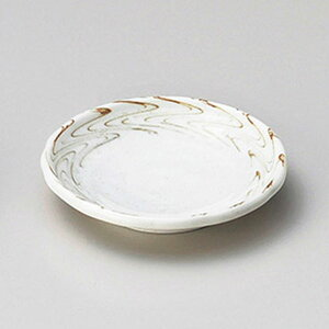 練り込み形入2.8皿 9cm 和食器 小皿 日本製 美濃焼 業務用 取り皿 豆皿 プチ皿 プレート デザート皿 しょうゆ皿 スパイス皿 和皿 和食屋 レストラン 取り皿 プレート 27-227-367-to