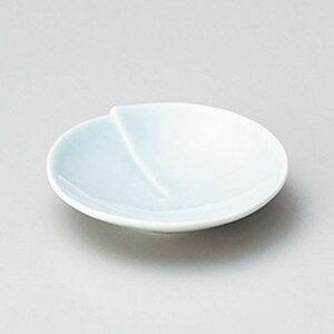 青白磁はす小皿 9cm 和食器 小皿 日本製 美濃焼 業務用 取り皿 豆皿 プチ皿 プレート デザート皿 しょうゆ皿 スパイス皿 和皿 和食屋 レストラン 取り皿 プレート 27-225-027-ne