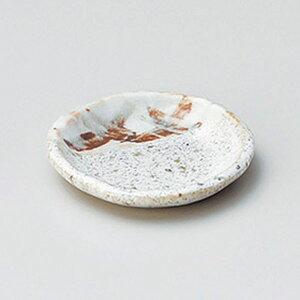 石垣志野小皿 9cm 和食器 小皿 日本製 美濃焼 業務用 取り皿 豆皿 プチ皿 プレート デザート皿 しょうゆ皿 スパイス皿 和皿 和食屋 レストラン 取り皿 プレート 27-226-127-ro