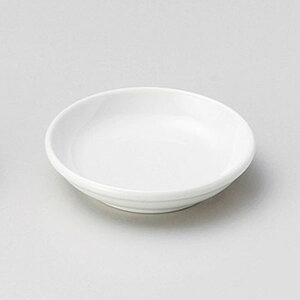 白2.8玉渕皿 9cm 和食器 小皿 日本製 美濃焼 業務用 取り皿 豆皿 プチ皿 プレート デザート皿 しょうゆ皿 スパイス皿 和皿 和食屋 レストラン 取り皿 プレート 27-227-497-ha