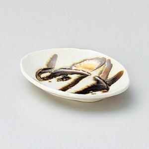 金彩オーバル12cm皿 12cm 和食器 小皿 日本製 美濃焼 業務用 取り皿 豆皿 プチ皿 プレート デザート皿 しょうゆ皿 スパイス皿 和皿 和食屋 レストラン 取り皿 プレート 27-225-357-a